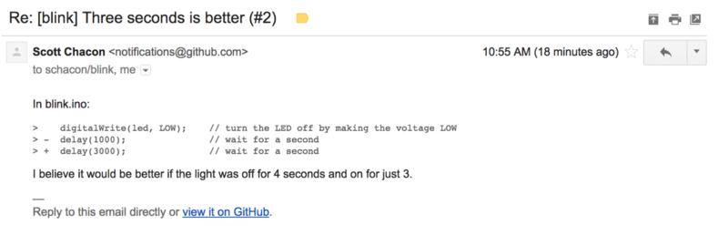 电子邮件提醒
